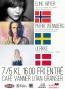 7/5 Eline Høyer (NO), Ulrikke (DK), Patrik Wenneberg (SE) @ Vänner UtanGränser