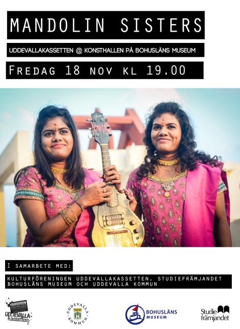 18/11 Mandolin Sisters (India) @ Konsthallen, BohuslänsMuseum