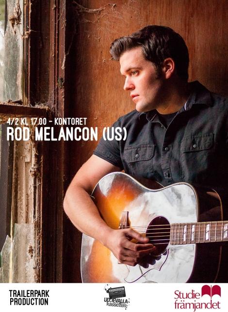 4/2 Rod Melancon (US) live påKontoret