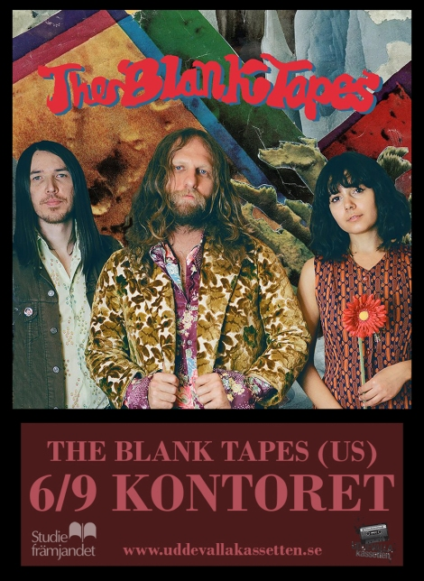 6/9 The Blank Tapes (US) @Kontoret