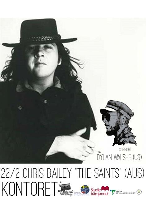 "22/2 -19 Chris Bailey ""The Saints"" (AUS) + Dylan Walshe (US) @KONTORET"