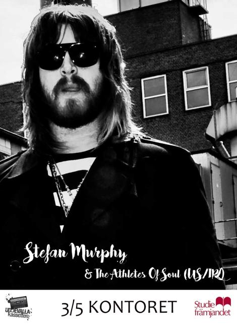 """3/5 Stefan Murphy """"The Mighty Stef"""" (Irl/Us) –Kontoret"""