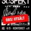 """4/9 Suspekt """"Försenad releasefest"""" – Kontoret. OBS!UTSÅLT!"""